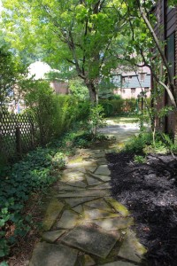 Cleveland Homes for Rent on Wyatt Rd stone walkway