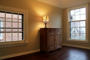 Second Floor - Bedroom with hardwood floors