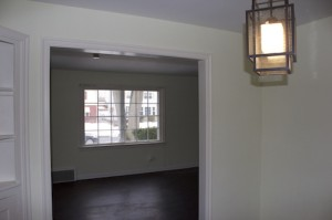 Houses for Rent on Blanche, Cleveland Ohio diningroom