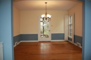 Cleveland Homes for Rent on Blackmore Rd dining room