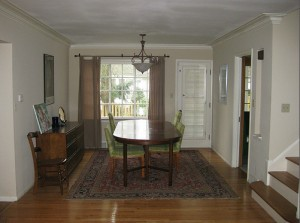 Homes for Rent Cleveland Heights Ohio, Forest Hill dining room