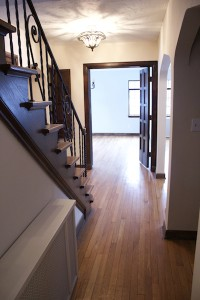Homes for Rent Cleveland Ohio on Glynn Road hallway