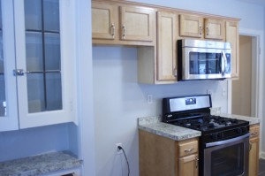 Homes for Rent Cleveland Ohio on Glynn Road kitchen