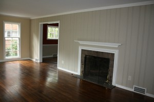 House for Rent in Cleveland on Hollister Rd fireplace