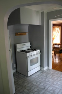 Homes for Rent Cleveland Heights Ohio on Kirkwood Rd kitchen oven