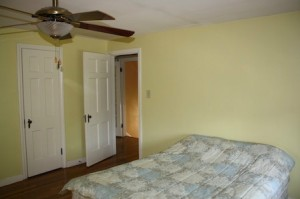 Homes for Rent Cleveland Heights Ohio on Kirkwood Rd bedroom