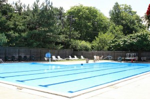 Cleveland Heights Homes for Rent on Maple Rd pool
