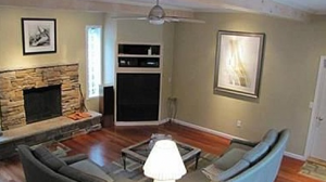 Cleveland Homes for Rent on Coronada Drive living room