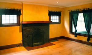 House for Rent in Cleveland on Westminster Rd fireplace