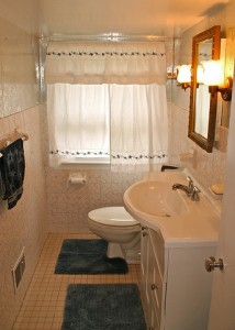 Homes for Rent Cleveland Ohio Heights on Westover Rd bathroom