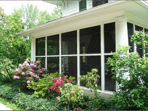 Cleveland Homes for Rent in Shaker Heights sunroom