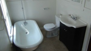 Homes for Rent Cleveland on Meadowbrook 3rd Floor Bathroom