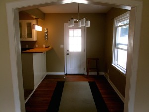 House for rent in Richmond Heights, Ohio living room