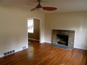 House for rent in Richmond Heights, Ohio fireplace
