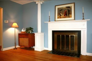 Cleveland Homes for Rent on Blackmore Rd fireplace