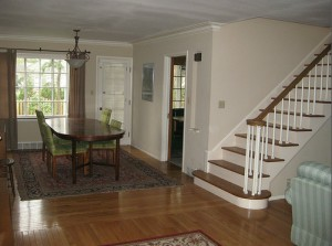 Homes for Rent Cleveland Heights Ohio, Forest Hill stairway