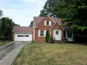 Homes for Rent Cleveland Ohio on Fenley Rd front