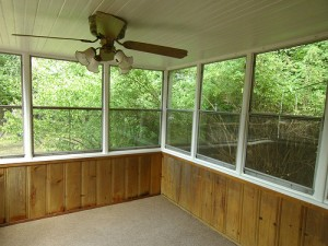 Homes for Rent Cleveland Ohio on Fenley Rd sunroom