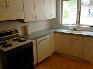Homes for Rent Cleveland Heights Ohio on Kirkwood Rd  kitchen