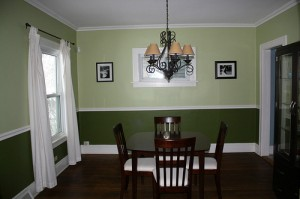 Homes for Rent Cleveland Heights, Ohio on Kingston Rd dining room