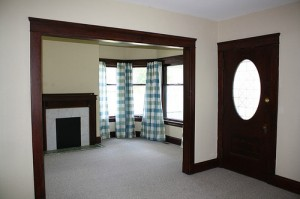 Cleveland Heights Homes for Rent on Maple Rd fireplace