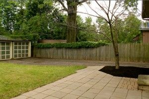 Homes for Rent Cleveland Ohio on Quilliams Rd backyard