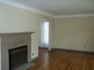 Homes for Rent Cleveland Ohio on Staunton Rd fireplace