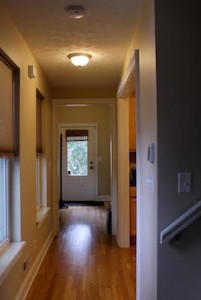 Cleveland Homes for Rent in Tremont hallway